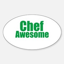 Chef Awesome Decal