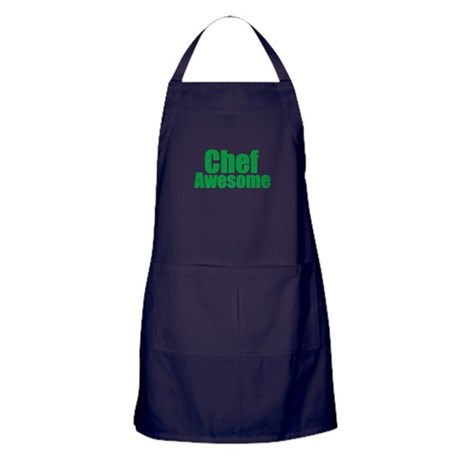 Chef Awesome Apron (dark)