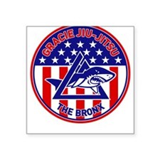 Gracie Red, White and Blue GE Square Sticker