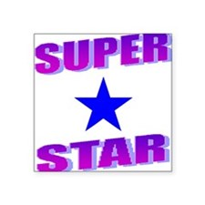 Superstar Square Sticker