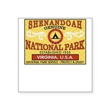 Shenandoah National Park Square Sticker