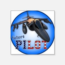 future pilot (AV-8B) Square Sticker