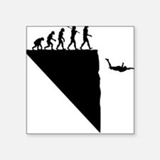 Base Jumper Square Sticker