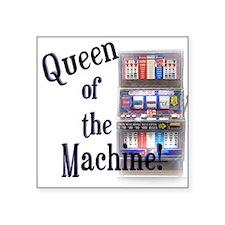 Queen of the Machine Square Sticker
