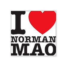 Norman Mao Square Sticker
