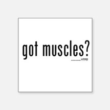 got muscles? Square Sticker