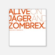 ALIVE Square Sticker