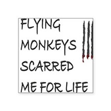 Flying Monkeys Square Sticker