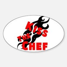 Kiss The Chef Decal