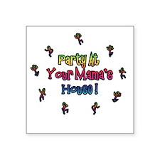 Widespread Party Tour Square Sticker