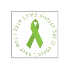 Lyme Disease Awareness Square Sticker