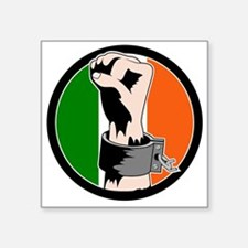 Irish Freedom Square Sticker