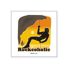Rockcoholic Square Sticker