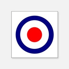 Mod Roundel Square Sticker