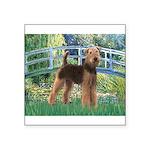 Bridge - Airedale #6 Square Sticker 3