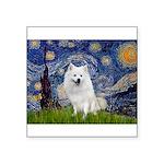 Starry-Am. Eskimo Dog Square Sticker 3