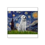 Starry-AnatolianShep1 Square Sticker 3