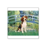Bridge & Beagle Square Sticker 3