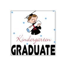 Kindergarten Graduate Square Sticker