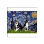 Starry Night & Bos Ter Square Sticker 3
