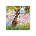 Garden & Boxer Square Sticker 3
