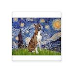 Starry / Boxer Square Sticker 3
