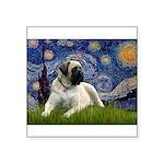 Starry / Bullmastiff Square Sticker 3