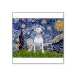 Starry/Bull Terrier (#4) Square Sticker 3