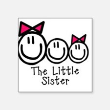 The Little Sister Square Sticker