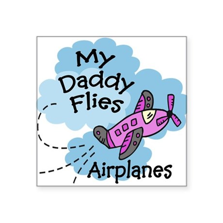 My Daddy Flies Airplanes Pink Baby/creeper Infant