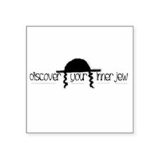 Discover Your Inner Jew Square Sticker