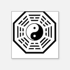 Yin Yang Dharma Square Sticker