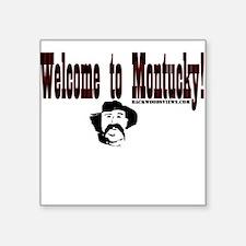 Montucky Square Sticker