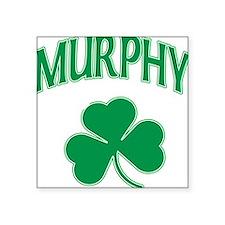 Murphy Irish Square Sticker