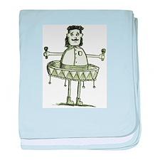 Sombrero Guy baby blanket
