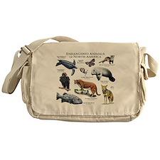 Endangered Species of North America Messenger Bag