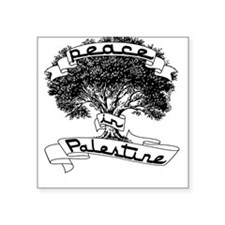 Peace in Palestine Square Sticker