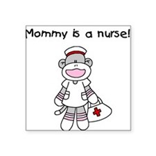 Mommy is a Nurse Square Sticker