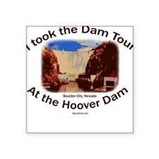 The Dam Tour Square Sticker