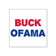 Buck Ofama Square Sticker