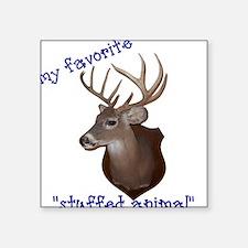 Rockin' Hunters Square Sticker