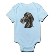 N Blk Soft Smile Infant Bodysuit