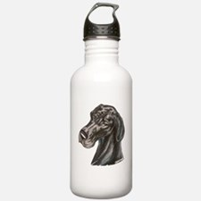 N Blk Soft Smile Water Bottle
