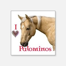 Palomino Square Sticker