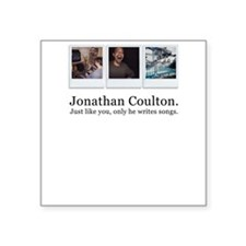 Jonathan Coulton. He writes s Square Sticker