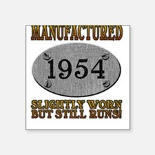 Manufactured 1954 Square Sticker
