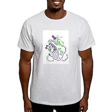 tribal purple dragon T-Shirt