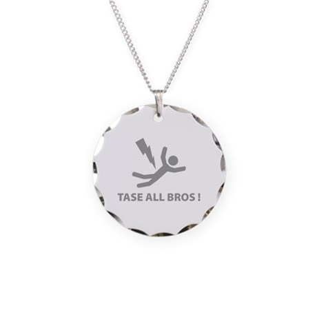 Tase All Bros Necklace Circle Charm
