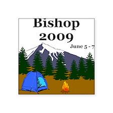 Bishop Trip 2009 Square Sticker