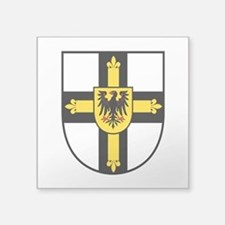Crusaders Cross - Knights Templar Square Sticker 3